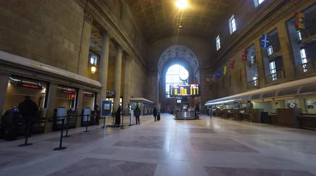 trilho : 4K UltraHD View of Union Station in Toronto