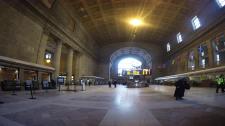szakszervezet : 4K UltraHD A timelapse of Union Station in Toronto