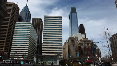exterior : Philadelphias city center buildings