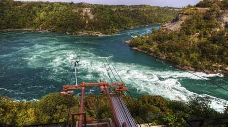 kabely : 4K UltraHD Timelapse of the Whirlpool Rapids in Niagara Falls