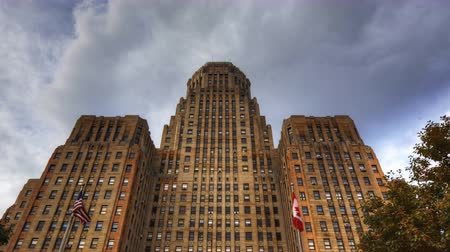 bufala : 4K UltraHD Timelapse di Buffalo City Hall di New York