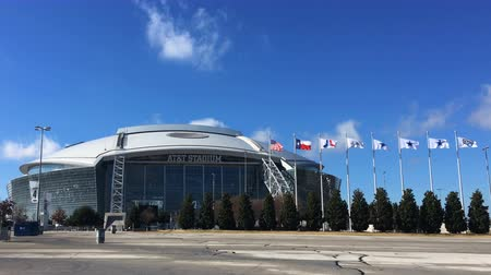 tigela : 4K UltraHD ATT Stadium in Arlington, the home to the Dallas Cowboys