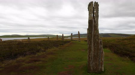 arqueológico : 4K UltraHD Ring of Brodgar, Orkney in Scotland