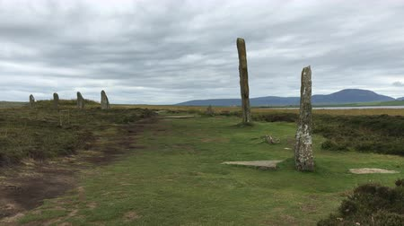 arqueológico : 4K UltraHD View of the Ring of Brodgar in Orkney, Scotland
