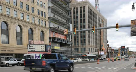 mi : Fillmore and Fox Theaters in Detroit 4K
