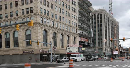 mi : Fillmore and Fox Theaters in Detroit Michigan