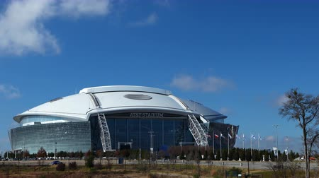 korporacja : AT&T Stadium, home to the Dallas Cowboys of the NFL 4K