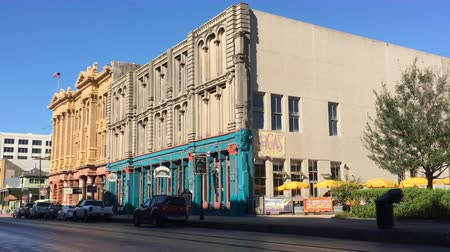 stories : Historic downtown Galveston Texas. These buildings survived great storms including one in 1900 4K