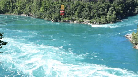 waters : Timelapse of Whirlpool Aero Car at Niagara Falls, Canada 4K