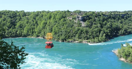 kabely : View Whirlpool Aero Car at Niagara Falls, Canada 4K