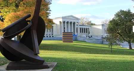 facciate : Albright-Knox Art Gallery, Buffalo, New York 4K