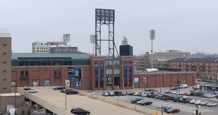 asientos : AutoZone Park en Memphis, Tennessee 4K Archivo de Video
