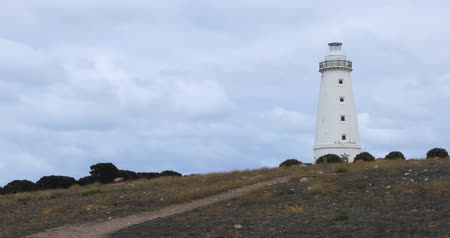 zátoka : Cape Willoughby Lighthouse on Kangaroo Island, Australia 4K Dostupné videozáznamy