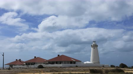 gyrophare : Timelapse Cape Willoughby Lighthouse à Kangaroo Island, Australie 4K