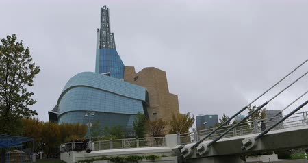 Canadian Museum for Human Rights in Winnipeg 4K