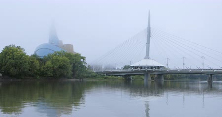 Canadian Museum for Human Rights and Provencher Bridge, Winnipeg 4K