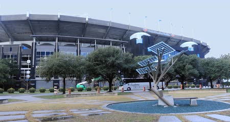 Bank of America Stadium in Charlotte, North Carolina 4K