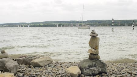 vaga : Germany lake Bodensee stone sculpture Vídeos