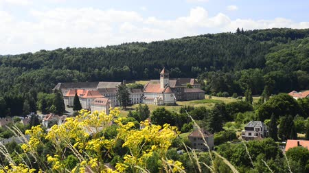 vosges : Bitche, city in France with Benedictine abbey