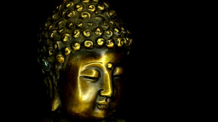 tibeti : Indian Buddha on a turntable