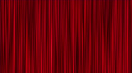 perdeler : Red Curtains Background. Seamless loop.