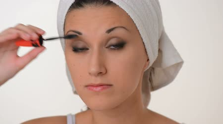 towel : Make-up Stock Footage