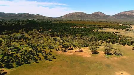 marys : Aerial footage Australian Outback, featuring Bush, Australian Countryside, rugged Mountain Ranges near Flinders
