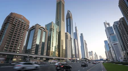 hyper : hyperlapse, Dubai Sheikh Zayed road, UAE