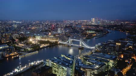 tamisa : time lapse London skyline with sunset
