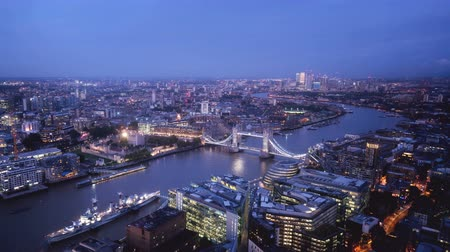 nyelv : time lapse London in sunset time, UK