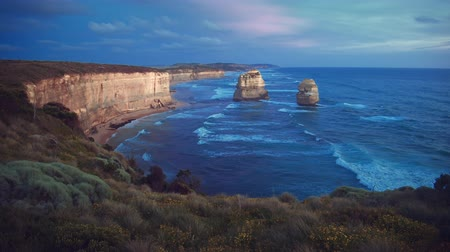 campbell : Twelve Apostles, after sunset, Australia