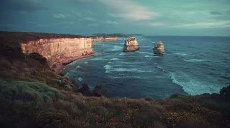 Twelve Apostles, after sunset, Australia