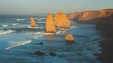 Twelve Apostles, sunrise time, Australia Vídeos