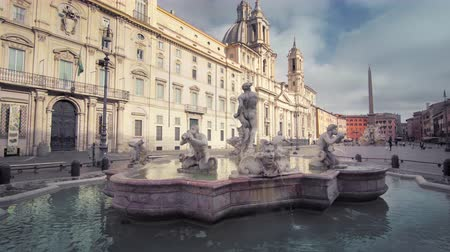 Piazza Navona in Rome. Italy