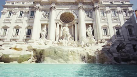 Fountain di Trevi in Rome, Italy Wideo