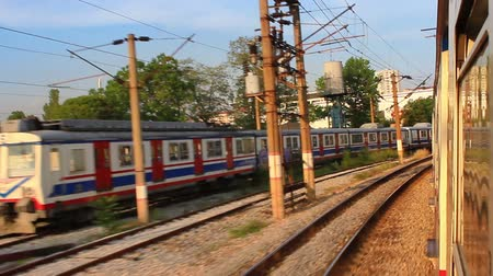 ekspres : Suburbans train railways
