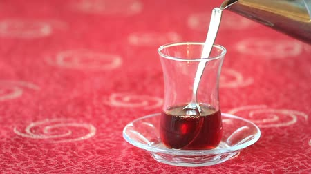 black tea : Serving Turkish Tea