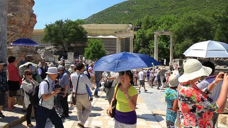 seljuk : EPHESUS, TURKEY - Jun 15, 2014: Ephesus ancient city was the center of world trade, a religious center of the early Christianity and today, Ephesus is an importante tourism center in Turkey. It played a great role in the ancient times with its strategic l