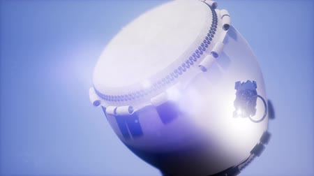 miscellaneous : Ramadan drum with DOF and lense flairs Stock Footage