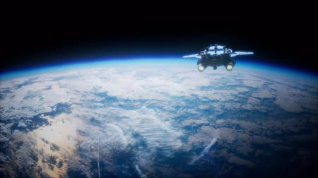 orbital : Space Shuttle above the Earth