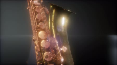 mouthpiece : Close up Saxophone jazz instrument