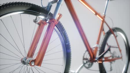 brake : mountain sport bike in studio