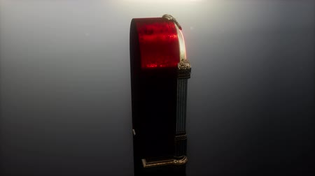 collectible : loop retro jukebox in the dark