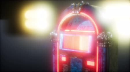 musically : retro jukebox in the dark
