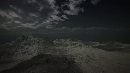 fumarole : View from the Mountain in a Storm