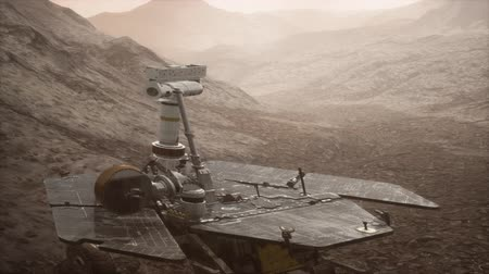 cauda : Opportunity Mars exploring the surface of red planet
