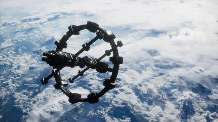 stratosfer : Earth and outer space station