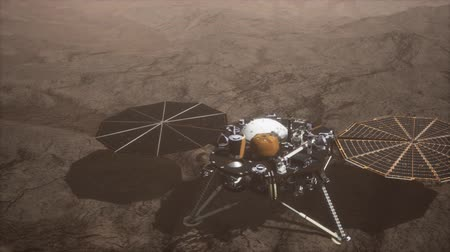 siding : Insight Mars exploring the surface of red planet