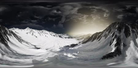 Норвегия : VR 360 Norway Mountains Severe Landscape
