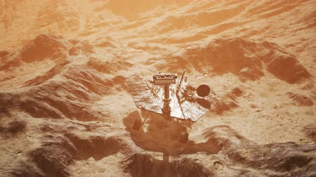 siding : Opportunity Mars exploring the surface of red planet